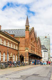 Central Railway Station Of Copenhagen Royalty Free Stock Photography
