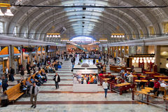 Central Railway Station in Stockholm, Sweden Royalty Free Stock Image