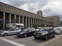 Central railway station in Stuttgart, Germany Stock Images