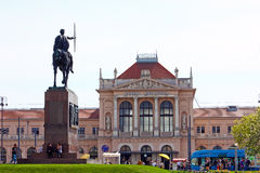 Central raiway station, Zagreb Royalty Free Stock Image