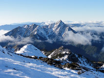 Central Range Point winter Royalty Free Stock Photography
