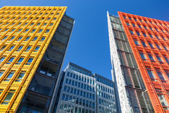 Central Saint Giles is a mixed-use development in central London, designed by Renzo Piano Stock Image