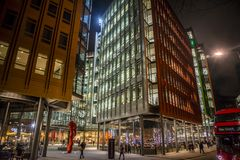 Central Saint Giles, London, UK royalty free stock photography