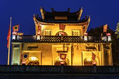 Central sector of Imperial Citadel of Thang Long,the cultural complex comprising the royal enclosure first built during the Ly Dyn. Asty. An UNESCO World Stock Photography