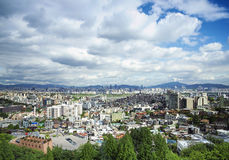 Central seoul in south korea Royalty Free Stock Photos