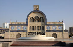 central sharjah souq Royaltyfri Bild