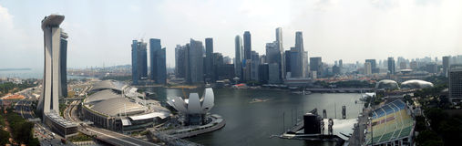 Central Singapore Royalty Free Stock Images