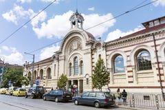 Central Sofia Market Hall in Sofia,Bulgaria Stock Image