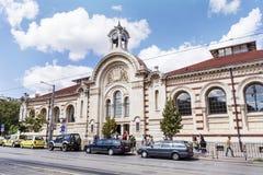 Central Sofia Market Hall in Sofia,Bulgaria Stock Photo