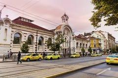 Central Sofia Market Hall in Sofia,Bulgaria Royalty Free Stock Photos