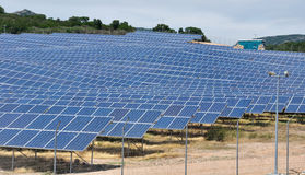 A central solar Royalty Free Stock Images