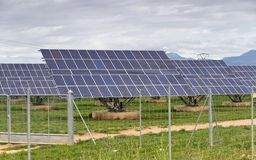 Central solar Royalty Free Stock Images