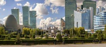 Central som är bulval i Astana arkivbilder