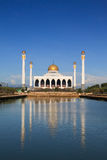 Central Songkhla Mosque. Is between the road hatyai to songkhla,Thailand Stock Image