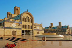 Central souq. Gold market in Sharjah Stock Image