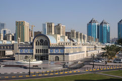 Central Souq in Sharjah City royalty free stock photo