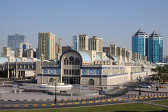 Central Souq in Sharjah City Royalty Free Stock Image