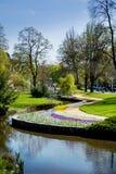 Central spa πάρκο σε Marianske Lazne Στοκ Εικόνες