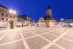Central Square in Brasov Royalty Free Stock Photography