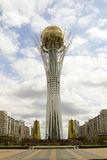 Central square in the city of Astana - capital of Kazakhstan Stock Photography
