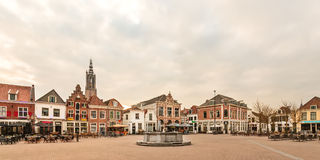 Central square in the Dutch city of Amersfoort Stock Photos