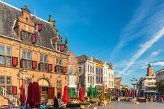 The central square in the Dutch city of Nijmegen Royalty Free Stock Photography