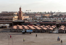 Central square of Marrakech stock photos