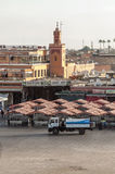 Central square of Marrakech Royalty Free Stock Photography
