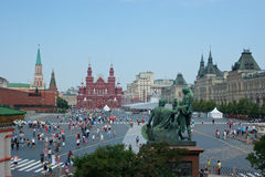 The central Square of Moscow Stock Images