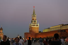 The Central square of Moscow Royalty Free Stock Photography