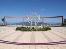 Central square in Nha Trang Stock Photography