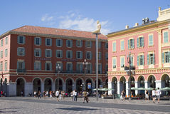 Central Square in Nice, France Stock Image