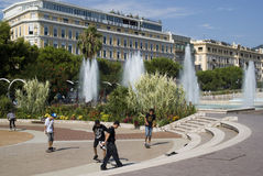 Central Square in Nice, France Royalty Free Stock Image