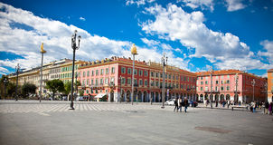Central Square in Nice, France. Stock Photos