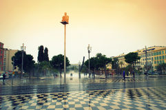 Central  square in Nice,France Royalty Free Stock Photography