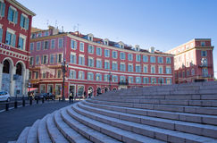 Central Square, Nice. Central Square, Old Town, Nice, France Royalty Free Stock Photography