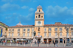 The central square of Parma Royalty Free Stock Photography
