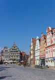 Central square Am Sande in Luneburg Royalty Free Stock Photo