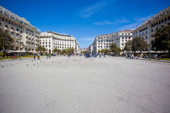Central square of Thessaloniki, Greece Royalty Free Stock Images