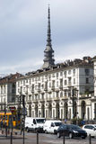 Central Square in Turin, Italy Stock Photography