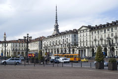 Central Square in Turin, Italy Stock Images
