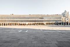 Central square in Venice. Procuratie Vecchie building on San Marco square in Venice Stock Photos