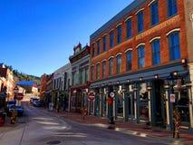 Central stad, Colorado arkivbilder