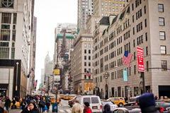 central stad nära ny parkstreetlife york Royaltyfria Foton