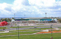 Central Stadium in Kazan Royalty Free Stock Images