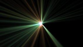 Central star shine optical lens flares shiny bokeh illustration art background new natural lighting lamp rays effect. Colorful bright image vector illustration