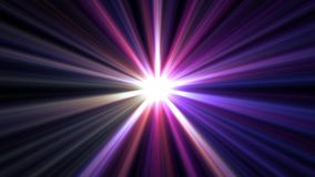 Central star shine optical lens flares shiny bokeh illustration art background new natural lighting lamp rays effect. Colorful bright image stock illustration
