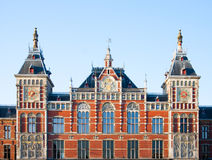 Central station Amsterdam Stock Photography
