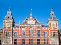 Central station Amsterdam Royalty Free Stock Image