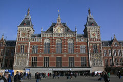 Central station Amsterdam Royalty Free Stock Images